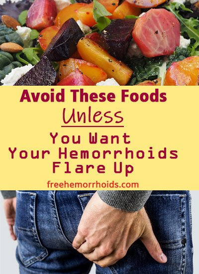10 foods that cause hemorrhoids to flare up you should avoid