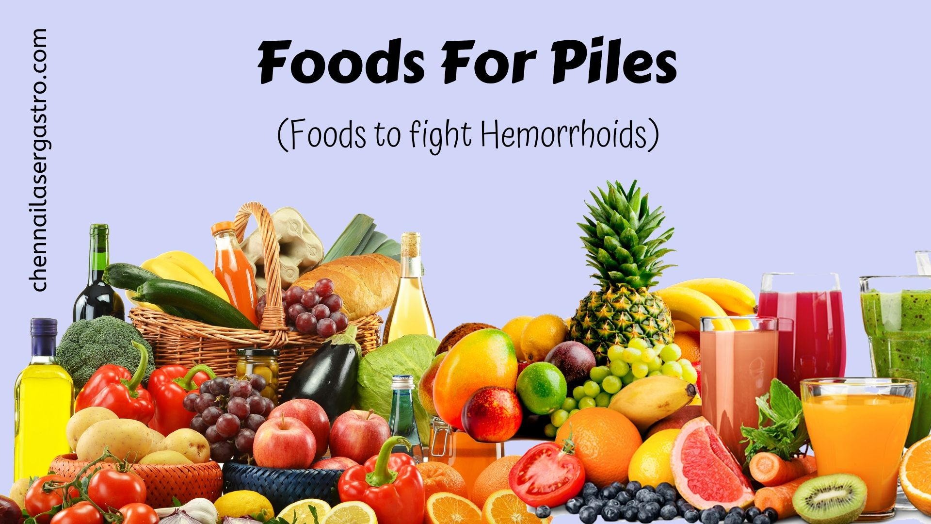 5 Foods to Eat When you have Hemorrhoids (Piles)