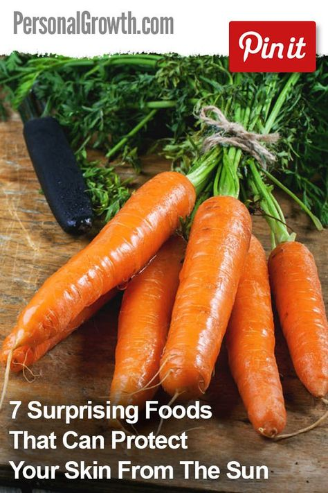 7 Surprising Foods That Can Protect Your Skin From The Sun ...