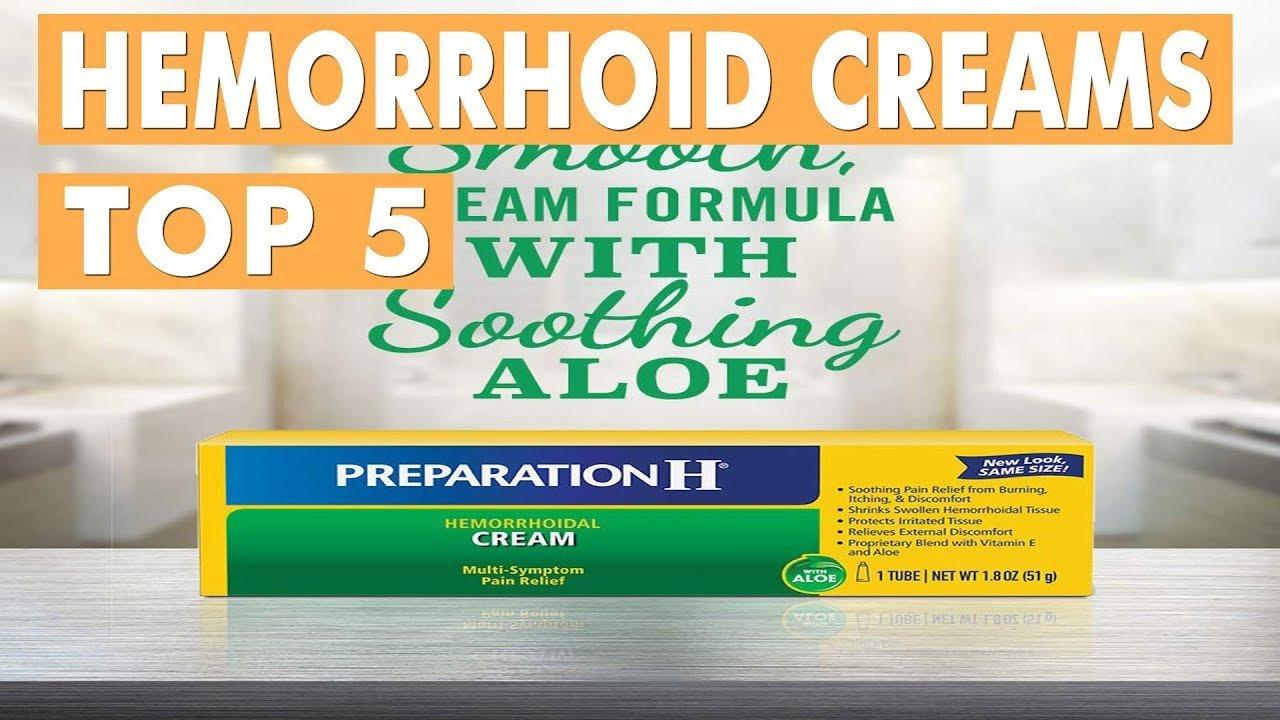 Best Hemorrhoid Creams 2019