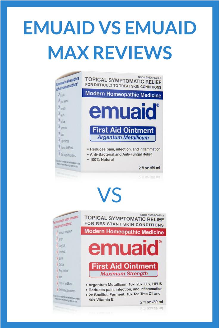 Emuaid vs Emuaid Max Reviews