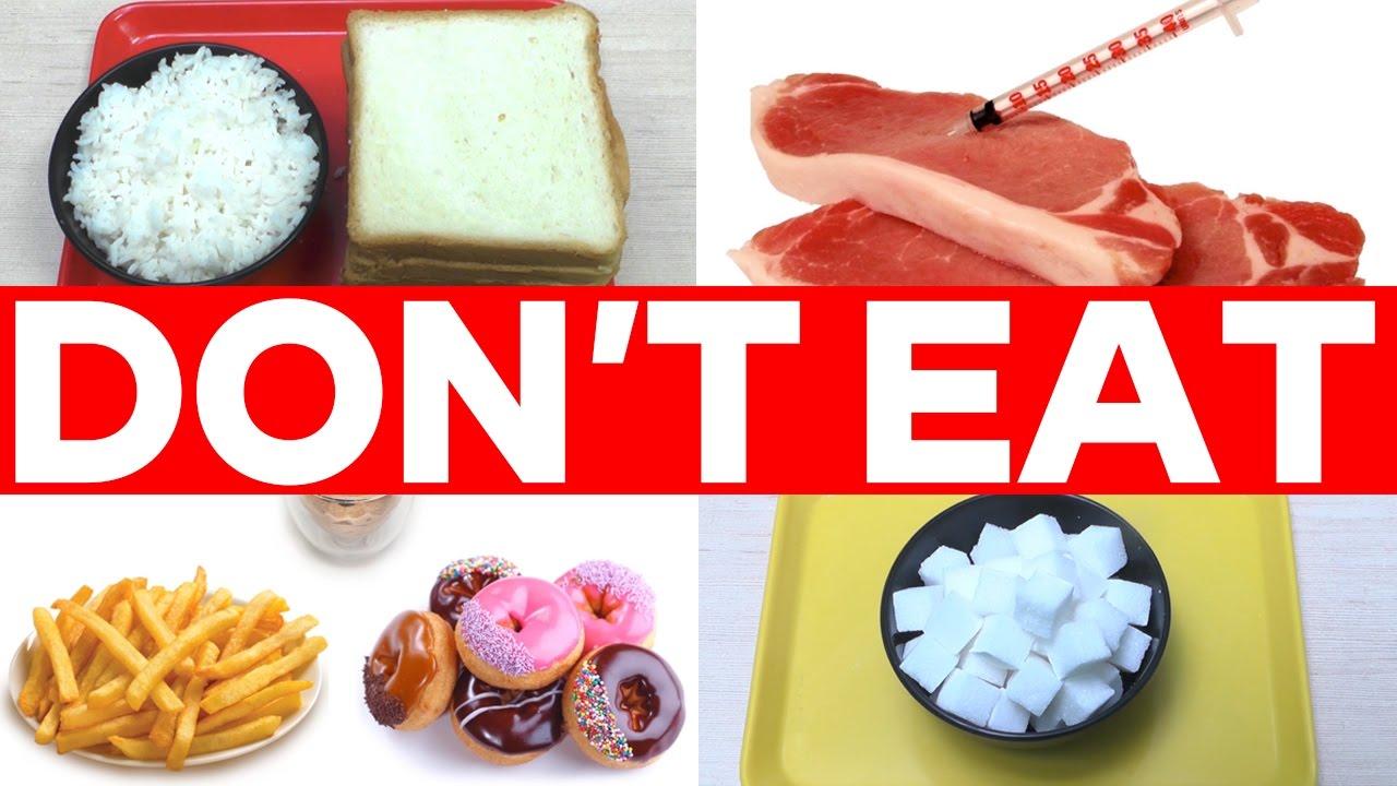 Top 5 Foods Should Avoid
